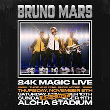 Bruno Mars 24k Magic Live At Aloha Stadium Kphw Power