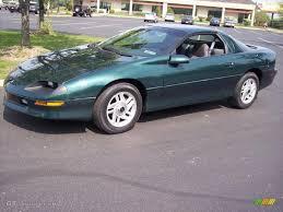 Camaro chevy camaro 1995 : 1995 Polo Green Metallic Chevrolet Camaro Coupe #28659487 ...