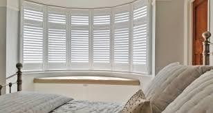 bay window blinds. 6 Panel Bay Window Shutters In Derby Blinds
