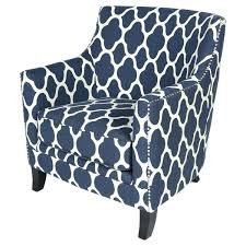 Blue Pattern Accent Chair Cool Gray Pattern Chair Large Size Of Chair Blue Patterned Inspirational