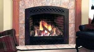 gas ventless fireplace natural inserts