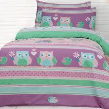20 best Owl Bedding images on Pinterest   Owls, Bedroom ... & Night Owl Quilt Cover Set Adamdwight.com