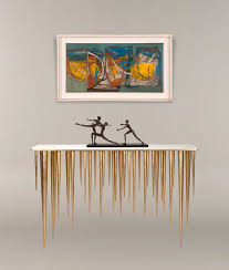 modern art furniture. Art Furniture Iconic Pieces For Modern Interior Design Icicle Console Table By Adam Williams R