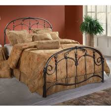 Wrought Iron Bed Frame King Innovation | : Wrought Iron Bed Frame King