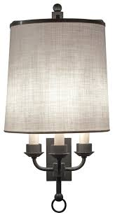 kennedy wall sconce by phoenix day made to order designer lighting from dering hall s collection of traditional transitional wall lighting