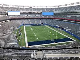 Reds Seating Chart Mezzanine Giants Stadium View From Mezzanine 203b Vivid Seats