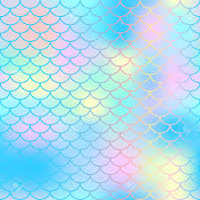 Mermaid Tail Pattern Extraordinary Fish Scale Texture Vector Pattern Magic Mermaid Tail Background