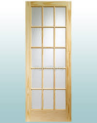 xl joinery knotty pine sa77 15 pane obscure flemish glass doors