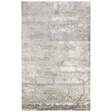 jaipur rugs aston 10 x 13 bamboo silk rug in gray and ivory