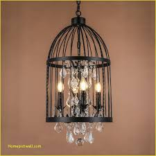 retro black rust iron birdcage style chandeliers e14 big crystal chandelier modern led lighting for