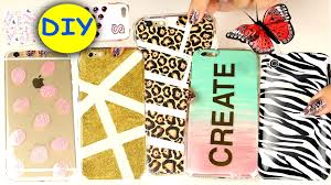 Diy 20 Diy Phone Cases Easy Diy Cell Phone Case Youtube