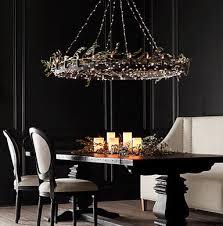 Unique lighting designs Diy Home Decor String Lights On Your Chandelier Leviton Blog Unique Lighting Ideas For Christmas u003e Home Improvement u003e Leviton Blog