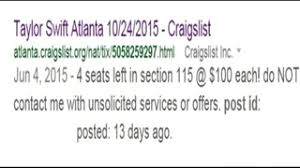 Quicken Loans Arena Seating Chart Taylor Swift Woman Warns Of Taylor Swift Ticket Scam Wsb Tv