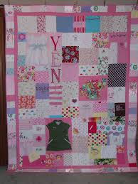 Patchwork quilt made from your clothes, baby items or other ... & Patchwork quilt made from your clothes, baby items or other material -  CUSTOM ORDERS. Adamdwight.com