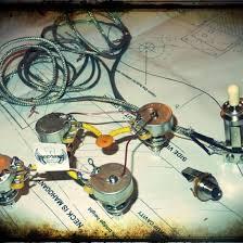 oddtone guitar electronics les paul nos crl ceramic full harness kit 50s wiring
