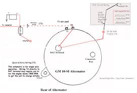 gm si alternator wiring wiring diagrams Duralast Alternator Wiring Diagram at Si Alternator Wiring Diagram