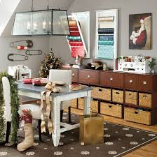 office table decoration ideas. Stylish Home Office Christmas Decoration Ideas (27) Table