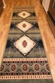 details about 2x8 runner rug southwest southwestern design medallion southern lodge green tx