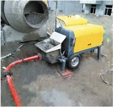 China Small Portable Concrete Pump with Hydraulic System - China Concrete  Pump Machine, Pump Concrete Machine