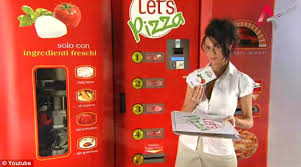 Vending Machine Pizza Maker Amazing Let's Pizza The Pizza Vending Machine Creating Each Pie From