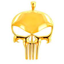 cpy15301 1 custom solid gold phantom head pendant