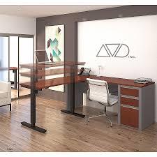 assembled office desks. Ready Assembled Office Furniture Best Of Bestar Connexion L Desk Including Electric Height Adjustable Table Desks E