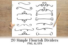 This free svg cutting file contains the following formats Free Svg 20 Simple Flourish Dividers Wedding Clipart Border Clipart Line Dividers Text Dividers Library Of Best Free Svg Files To Download