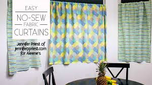 No Sew Curtains Aleenes Glue Products Craft Diy Project Adhesives No Sew