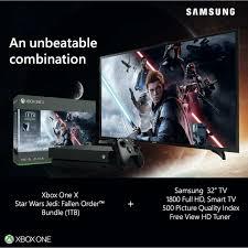 Buy Microsoft Xbox One X 1Tb Console Star Wars+32