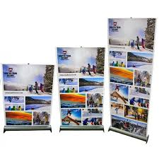 Retractable Display Stands Jiffy Screen Retractable Banner Stand Telescoping Banner Stand 72