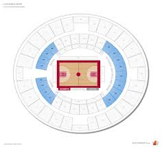 Lloyd Noble Center Oklahoma Seating Guide Rateyourseats Com