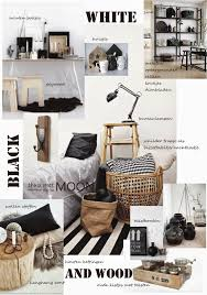 Thuis Met Moon Zwart Wit Met Hout Voor Een Warm Interieur Wit Interieur Winkel