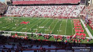 Nebraska Memorial Stadium Seating Chart Rows Memorial Stadium Nebraska Section 101 Rateyourseats Com