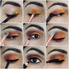 learn terrific way to apply two tone eye shadows with steps