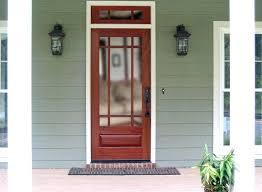 36 wood screen door villager white high view tempered glass standard
