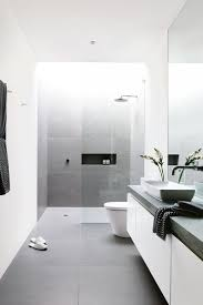 bathroom remodel do it yourself. Simple Remodel A Monochrome Designed Bathroom For Bathroom Remodel Do It Yourself I