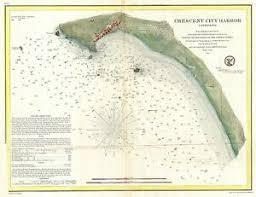 California Nautical Charts Details About 1859 Coastal Survey Map Or Nautical Chart Crescent City California