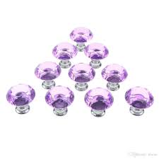 Round glass cabinet knobs Clear Glass 2019 Purple 30mm Flat Round Crystal Glass Cabinet Knobs Cupboard Drawer Pull Handles From Wicoo 1005 Dhgatecom Cheaptartcom 2019 Purple 30mm Flat Round Crystal Glass Cabinet Knobs Cupboard