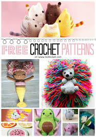 free crochet patterns for toys kids