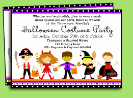 costume party invites custom halloween birthday invitations lijicinu 0b9b46f9eba6