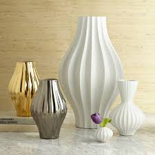 ... Modern Unique Style Interior Design Home Decoration Giant Vase Premium  Material High Quality White Silver Gold ...
