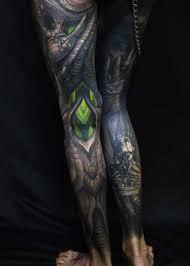 девушки решившиеся на татуировку во всю ногу