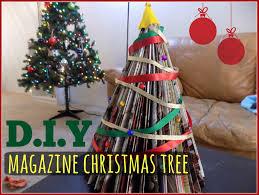 DIY Magazine Christmas Tree   Yvette Dixon