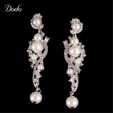beautiful vintage chandelier earrings wedding 2