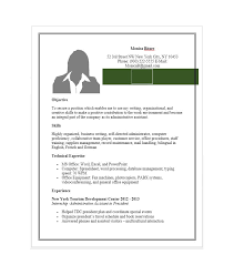 Resume Example Free Sample Administrative Assistant Resume Resume