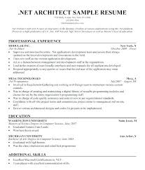 Architectural Resume Examples Architecture Resume Sample