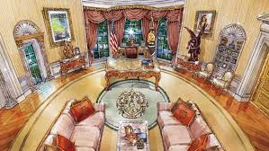 oval office paintings. Cherubs, Marble And Louis XIV: What Donald Trump\u0027s Oval Office Might Look Like Paintings