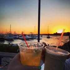 Sky Sunset Waterfront Alcohol Ocean Margarita Mudslide