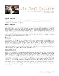Child Care Mission Statements Oyle Kalakaari Co