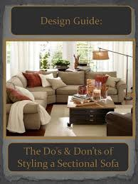 Living Room Rug Placement Amazing Design Guide How To Style A Sectional Sofa ConfettiStyle